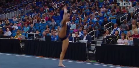 UCLA Gymnast Sophia DeJesus: She Betta WERK!