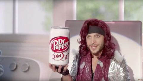 Diet Dr Pepper Commercial's WACK, DISRESPECTFUL, Prince Impersonation!!