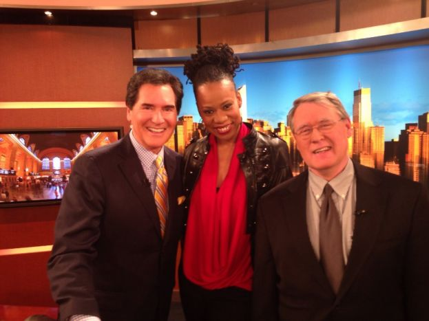 Lisa Durden With Ernie Enastos On Fox 5 News Live At 6pm